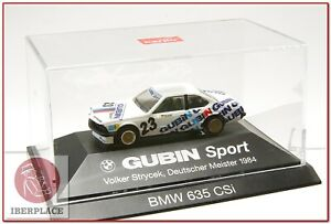 H0-escala-1-87-ho-maqueta-modelismo-coche-auto-car-Herpa-Gubin-Sport-BMW-635-CSI
