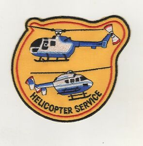 Uniform-Sew-On-Patches-Sleeve-Badge-Helicopter-Service-Pilot-Helicopter