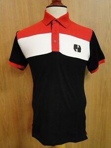 07df8d773cfc67 Image is loading SNEAKER-FREAK-Mens-Polo-Shirt-BLACK-RED-WHITE-