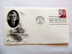 June-14th-1978-034-Oliver-Wendell-Holmes-034-First-Day-Issue