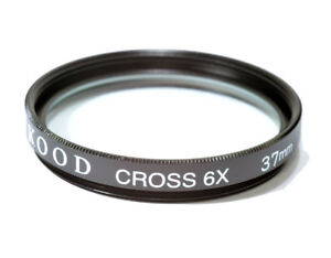 High Quality Kood Glass 37mm Starburst x6 Filter Made in Japan Star 6
