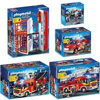 Playmobil® City Action Feuerwehr Feuerwehrstation Feuerwehrwagen Auswahl