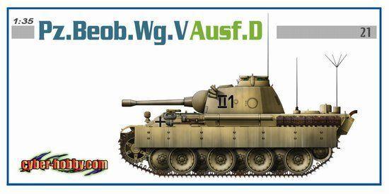 Dragon  35 Pz.Beob.Wg.V Ausf.D