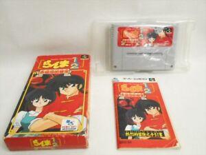 RANMA-1-2-Akanekodan-teki-Hiho-Item-REF-bcc-Super-Famicom-Nintendo-Japan-Game-sf