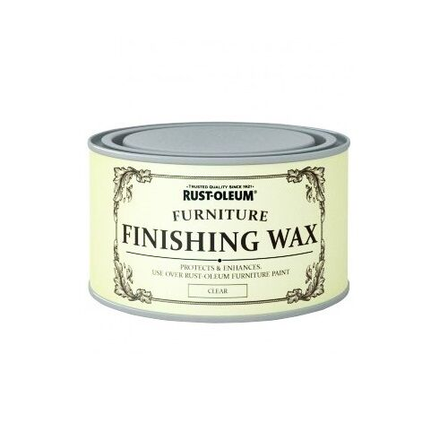 Rust Oleum Chalk Chalky Furniture Paint Wax Lacquer 125ml
