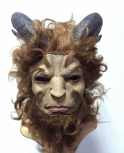 Beauty and the Beast Prince Adam Costume Suit or Mask for Adult Men