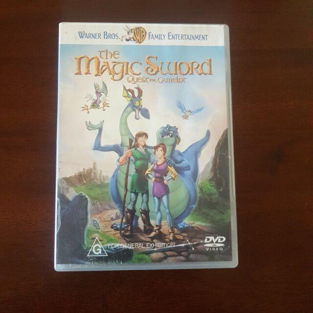 The Magic Sword - Quest For Camelot (DVD, 1998) Region 4