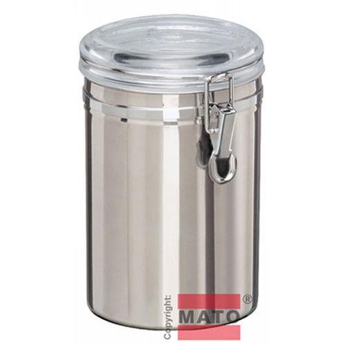 Edelstahl Vorratsdose 1,8 l Vorratsbox Frischhaltedose Dose Box Behälter