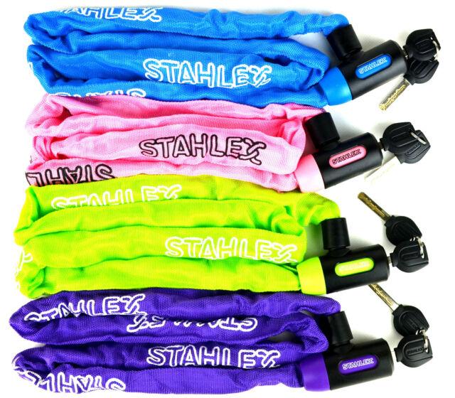 Stahlex bicicleta motocicleta castillo cadena bike cerraduras accesorios de seguridad