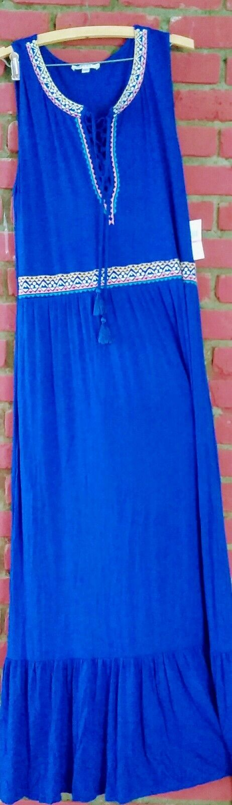Spense Dress Angelfish bluee Sleeveless Size XXL New with tags