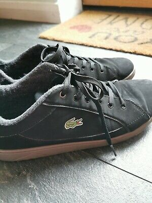 Lacoste mens deviation II trainers size