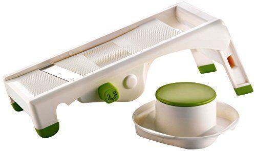 Adjustable Plastic Vegetable Paderno World Cuisine Mandoline Vegetable Slicer