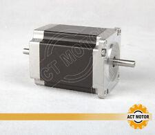ACT dual shaft 23HS8630B  6-lead  3.0A 270OZ Nema 23 Stepper Motor 76MM,1.9n.m