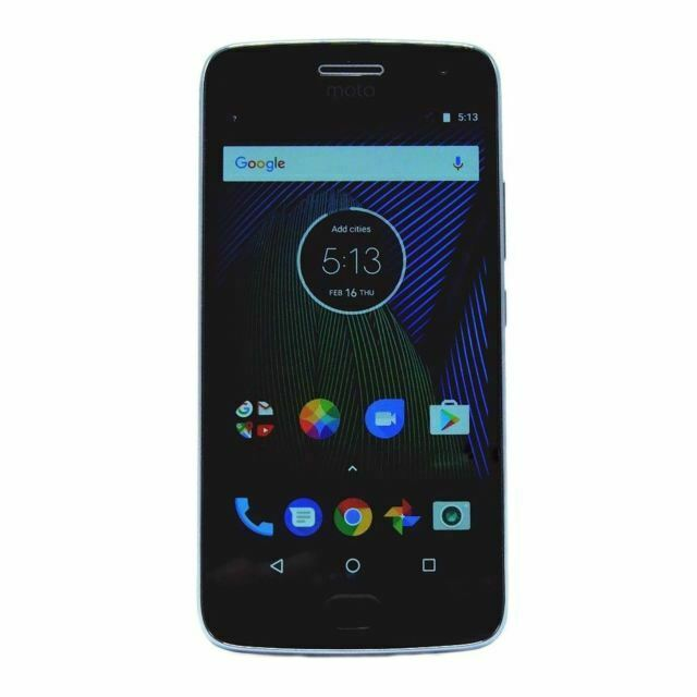 MOTO G5 Plus XT1687 - 32GB - Lunar Gray (Unlocked) Smartphone