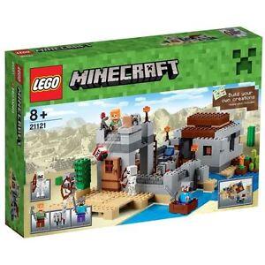 LEGO Minecraft 21121 LAvant-Poste dans le Desert