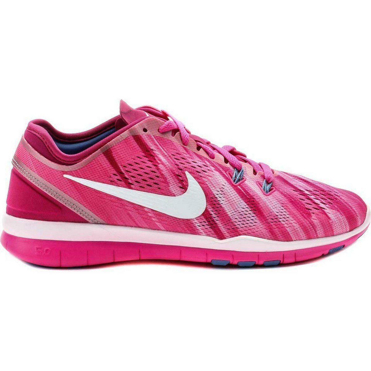 Womens NIKE FREE 5.0 TR FIT 5 PRT Running Trainers 704695 601 US 8
