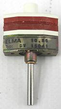 NOS Elma 08-1114 BV15041 SR10405 2 Pole 2-12 Position PCB Mount Rotary Switch SE