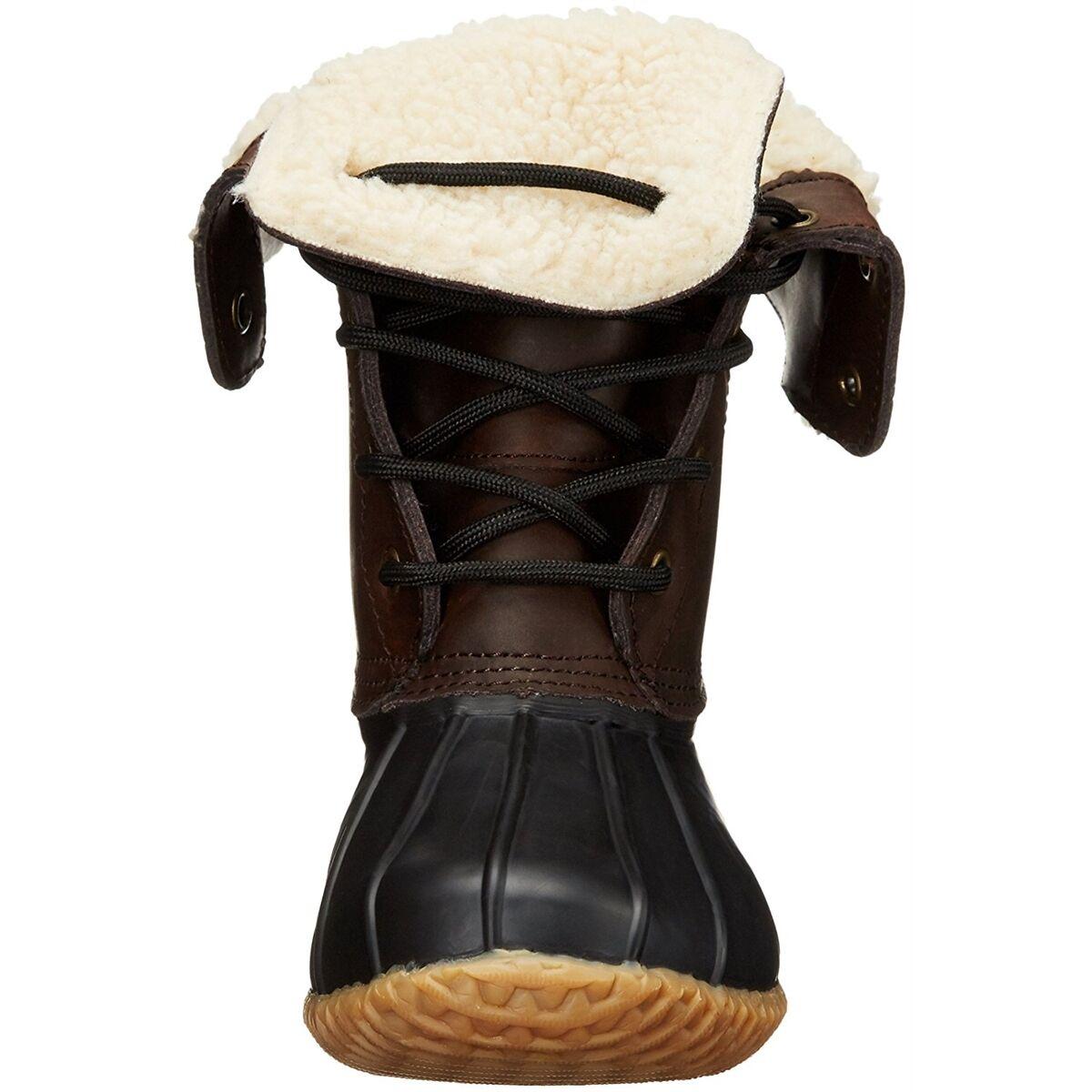 Northside Damens Winter Stiefel Dark Carrington Waterproof Duck Boot Dark Stiefel Braun 112fa3