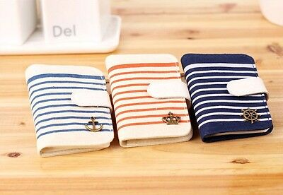 3 Option The navy style Cute Cards Holder Wrist Case 20 cards can be placed