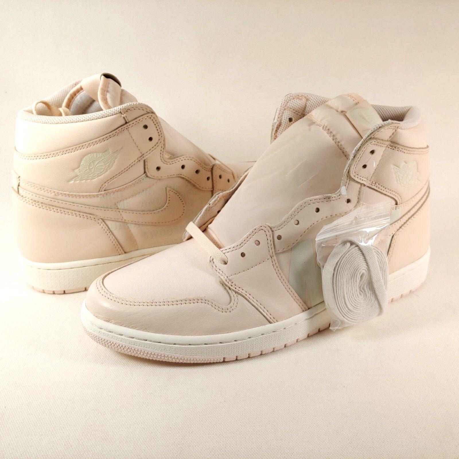 Nike Jordan 1 Retro Alta Alta Retro Original Air guayaba hielo Vela Swoosh DEADSTOCK para hombre 52b4b2