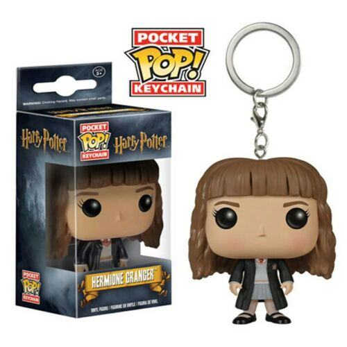 Hermione Granger Pocket Pop Keychain Official Harry Potter Funko Pop Keyring