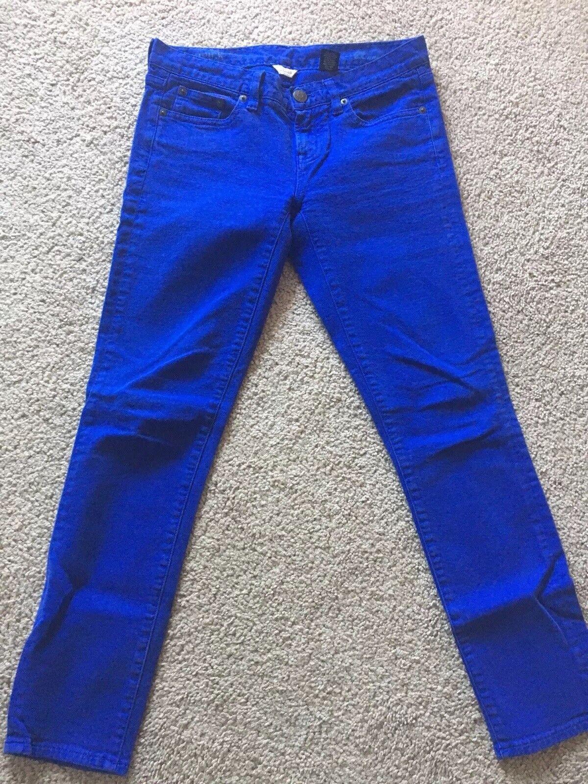 Jcrew Skinny Jeans bluee Woman Size 26