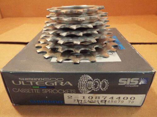 UG Cassette...7-speed//12x19 New-Old-Stock Shimano 600-Ultegra UniGlide