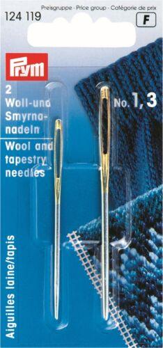 Prym agujas de mano de alta calidad-Surtido de tipo Pasacintas Chenille Tapiz Sharp