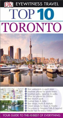 DK Eyewitness Top 10 Travel Guide: Toronto,Barbara Hopkinson, Lorraine Johnson
