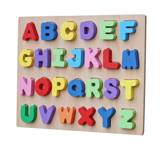 alphabet toys and gifts timy wooden alphabet puzzle board learning 3324