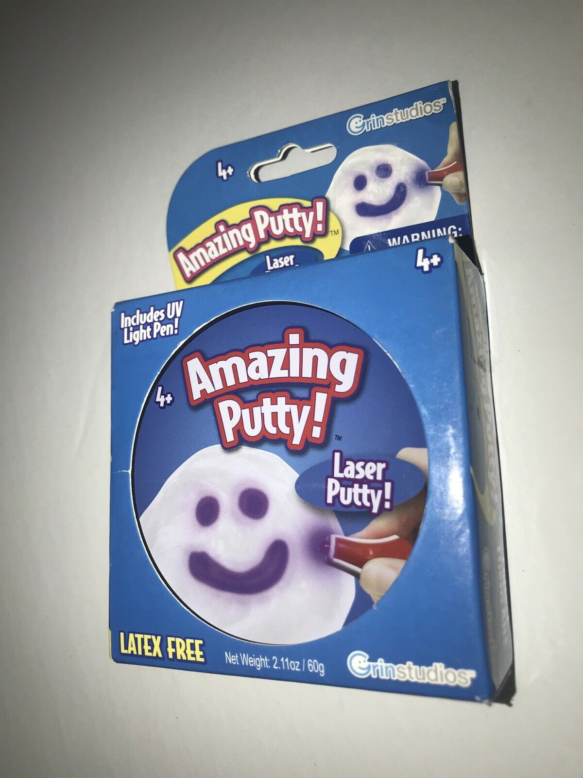 Amazing Putty Grin Studios Laser Putty with UV Light Pen