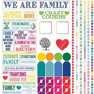 Family Love sticker sheets