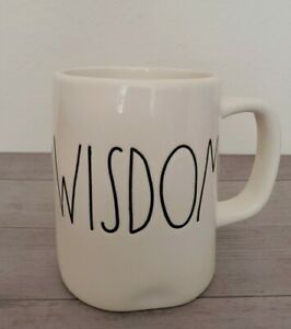 NEW-RAE-DUNN-by-Magenta-WISDOM-Coffee-Tea-Mug-Farmhouse-Fall-Home-Decor