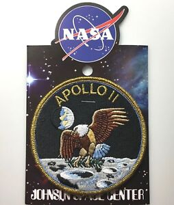 NASA-APOLLO-11-MISSION-PATCH-Official-Authentic-SPACE-4in