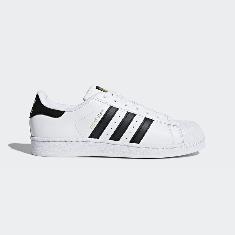 New Adidas Originals hommes SUPERSTAR blanc /noirC77124 US M 7.5-10.0 TAKSE