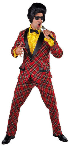 Disco Costume Costume Hommes 50er 60er années hippie smoking rock n roll Disco Costume