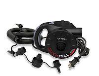 Intex 120v Quick-fill Ac Power Recreational Air Pump W/ 3 Nozzles   66623e on sale
