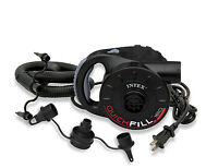 Intex 120v Quick-fill Ac Power Recreational Air Pump W/ 3 Nozzles | 66623e on sale