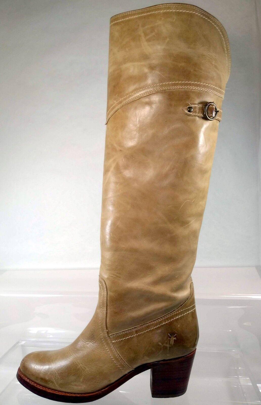Frye Jane Tall Tall Tall Cuff Au-dessus du genou bottes cavalières femme 8 US 77594 f1bacf