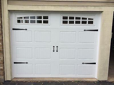 HINGES-Spade Style GARAGE DOOR DECORATIVE HARDWARE HEAVY IRON