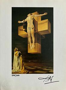 Salvador-Dali-Original-Hand-Signed-Print-COA-Certificate-Of-Authenticity-RESALE