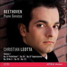 BEETHOVEN: PIANO SONATAS, VOL. 1 (NEW CD)