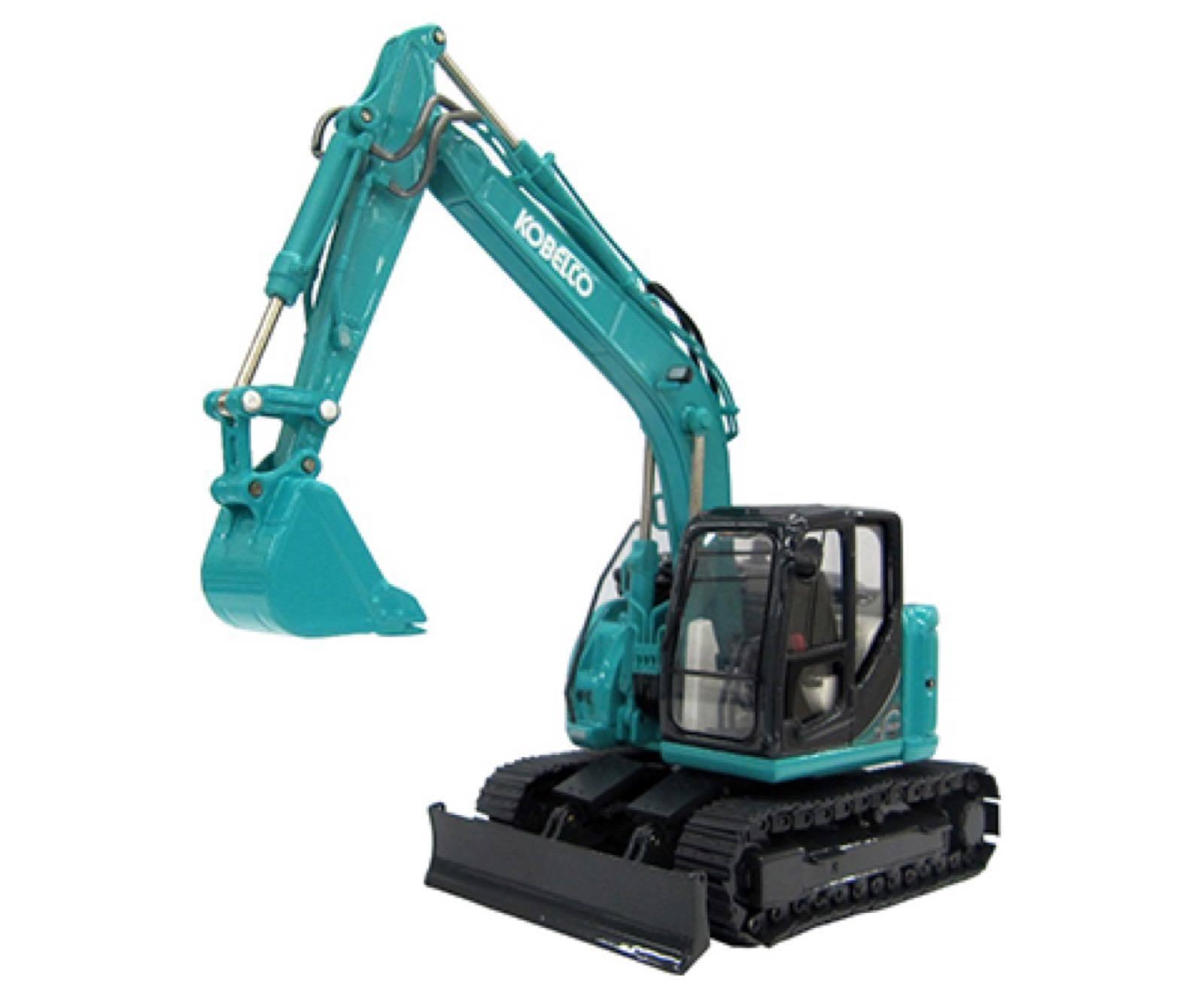 Kobelco Kenki Miniature SK135SR-5 kspnv 010010 Pelle Voiture vert 1 50 Neuf F S JPN