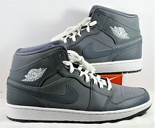the best attitude db4e7 34745 Air Jordan 1 Retro Mid Basketball Shoes Cool Grey   White Sz 13 NEW 554724  033