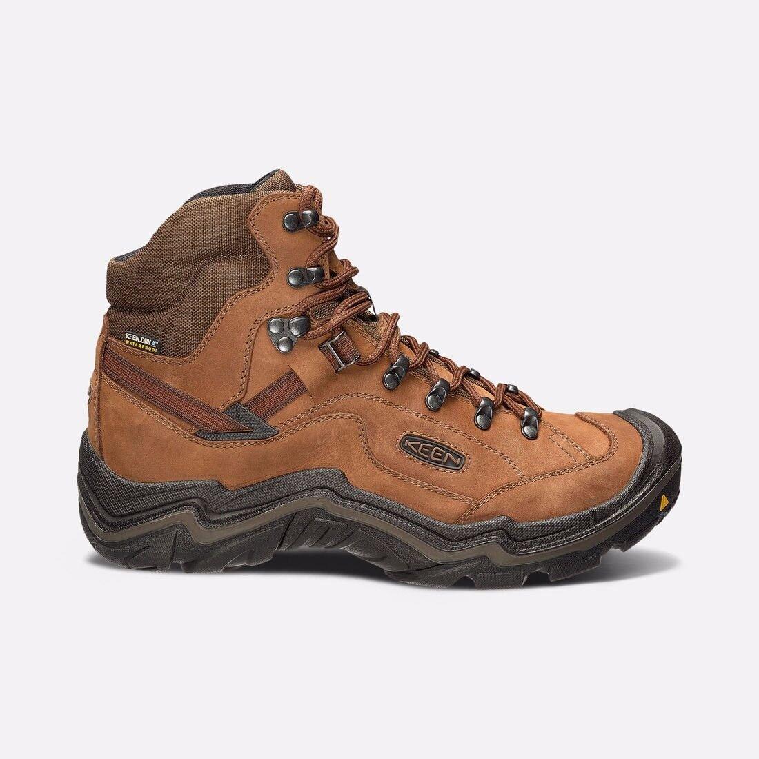 Keen Galleo Mid Waterproof Mens Walking Boots- Dark Choc (Size 7) RRP 9c26e4f52