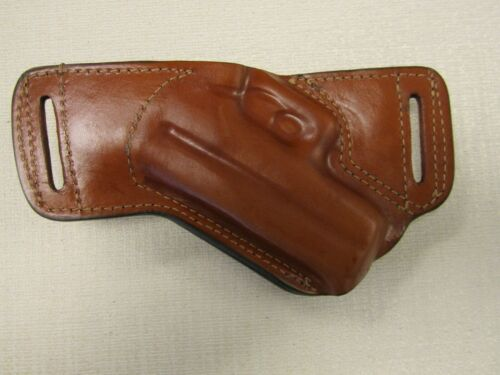 Braids Holsters Glock 43 /& 43X brown leather formed SOB holster right hand
