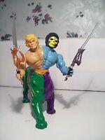 1980's MOTU Custom He-Man, Skeletor Battle Centaur complete with weapons
