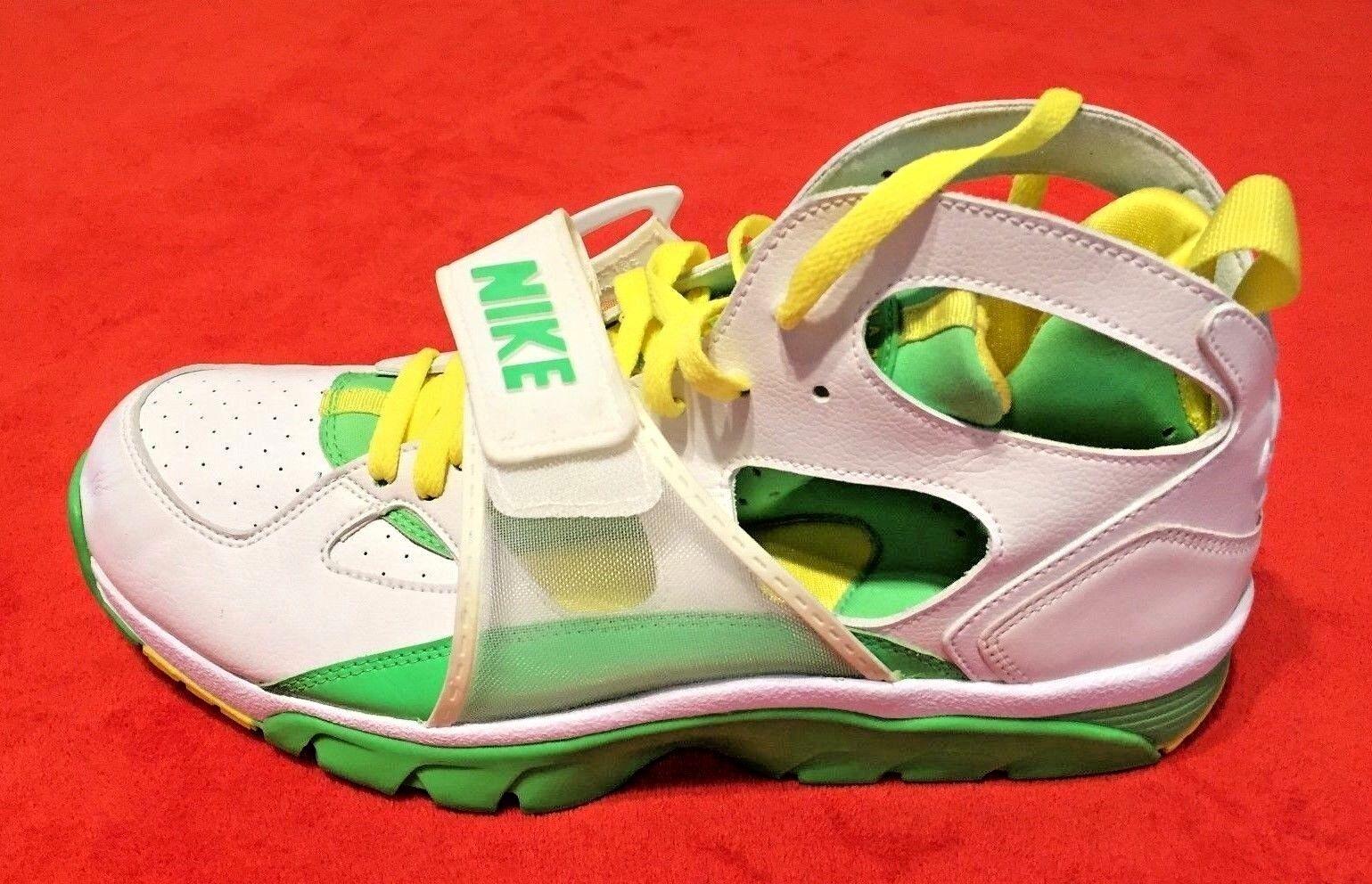 Nike weiß, ledersneaker grün und gelb männer air huarache ledersneaker weiß, schuhe der größe 12 dc9117