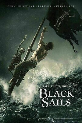 Black Sails Take What/'s Yours Gift Classic moive Poster Fabric Hot Decor X-281