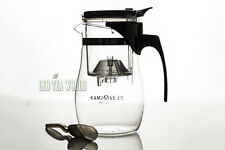 600ml 20fl.oz Kamjove Heat Resistant Clear Glass Kettle Piao Yi Teapot TP-767